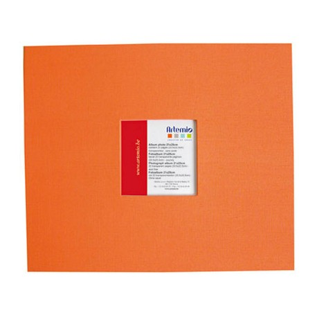 Album 20x20 Naranja