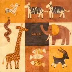 Servilleta Safari
