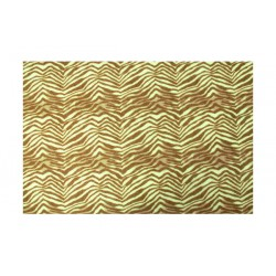 Fieltro estampado - Brown Zebra