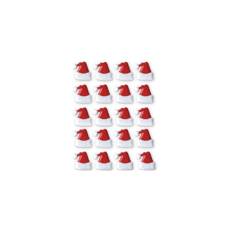 20 Remaches gorro Santa Claus