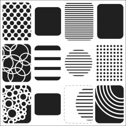Template 6x6 - Life Shapes Small
