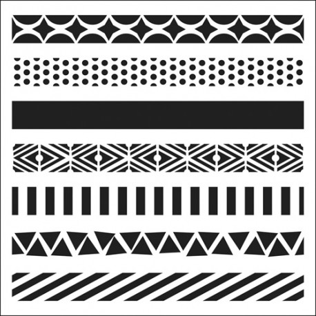 Template 6x6 - Pattern Strips