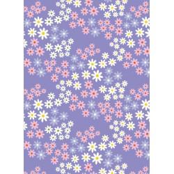 Tela ALICE Flores Lavanda