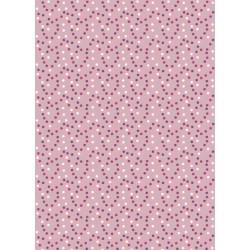 Tela LUCY Lunares/rosa