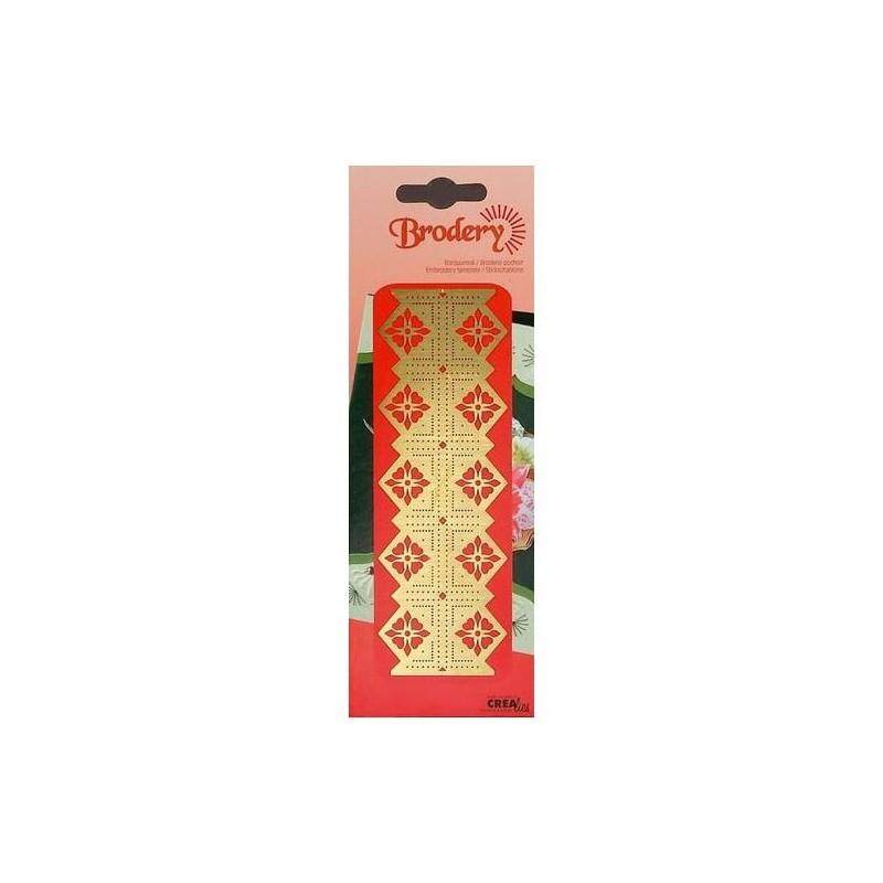 Plantilla Embroidery - Ornament flower