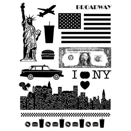 Sellos Acrílicos - NEW YORK