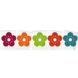 Fieltro 10 Flores Fun (6cm)