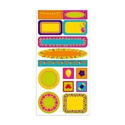 Etiquetas mini marcos Fun