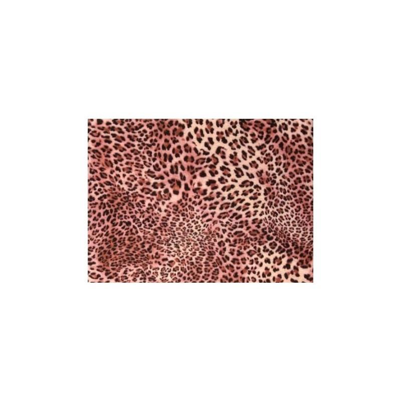 Fieltro estampado - Pink Leopard