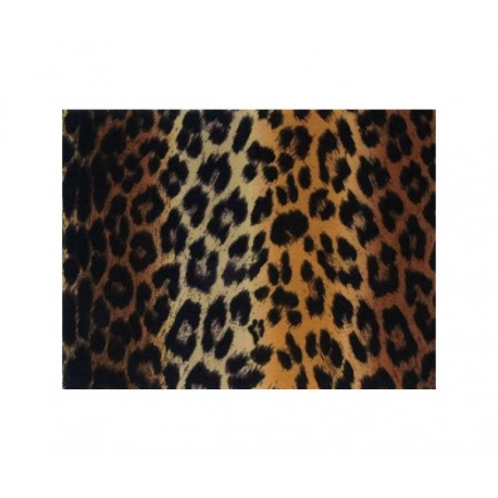Fieltro estampado - Brown Leopard