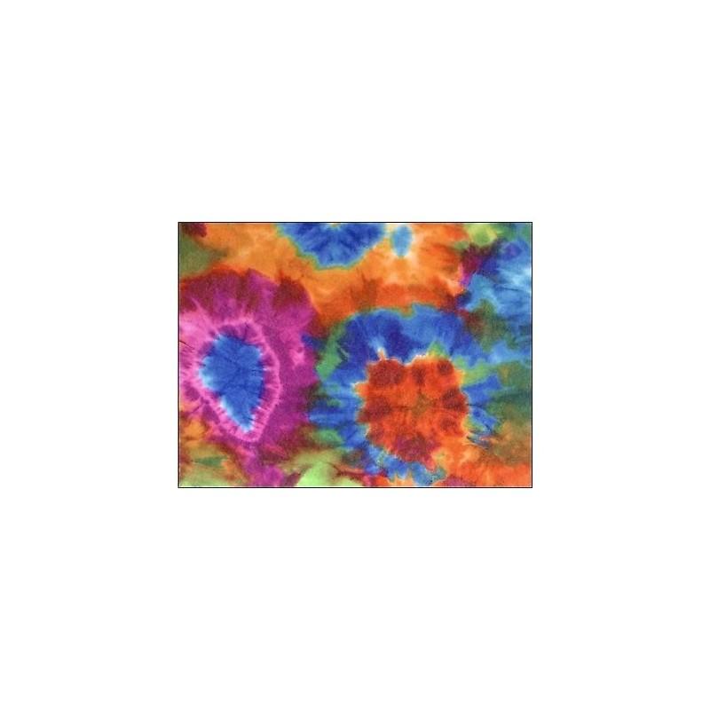 Fieltro estampado - 1960's Tie Dye