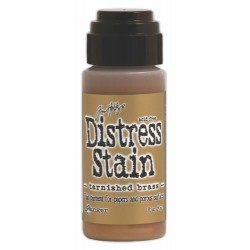 DISTRESS STAIN - Tarnished Brass - Metallic