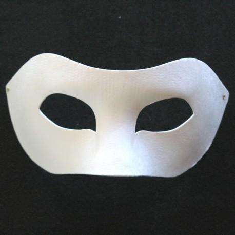 Máscara de carton blanco, Lobo
