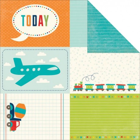 SCOOT - Journaling Cards 4X6