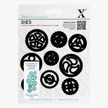 Xcut Die Set - Cogs