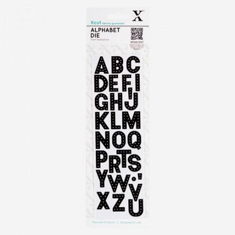 Xcut Alphabet Die - Headliner