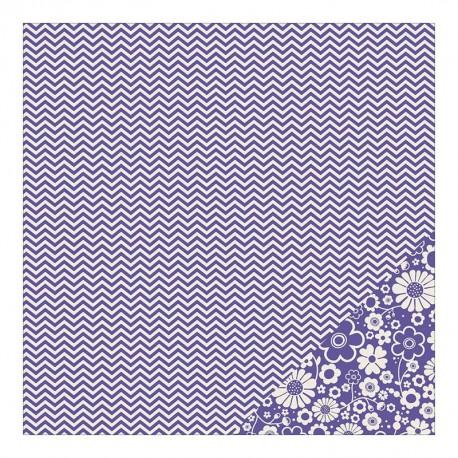Basics - Purple Chevron