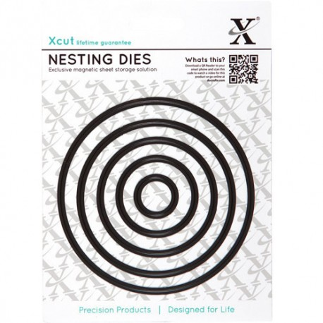 Xcut Nesting Dies - Circle
