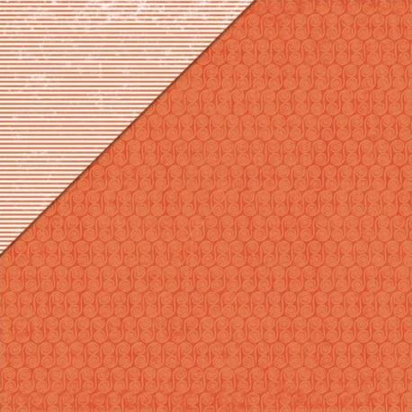 Fern & Forest Boy - Orange Fiddleheads