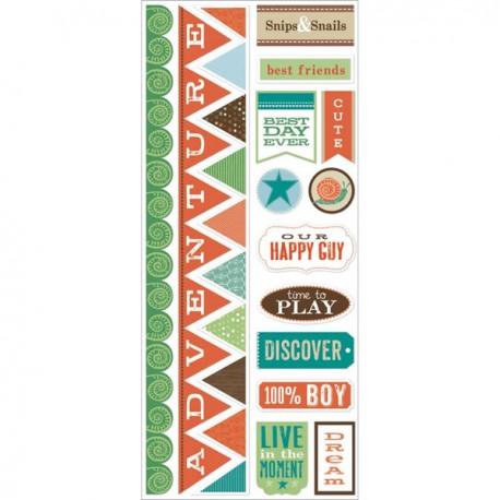 Fern & Forest Boy Canvas Stickers