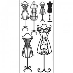 Timeless, Dress forms, Rub-Ons