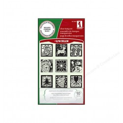 INCHIES CLEAR STAMPS - Holiday Spirit