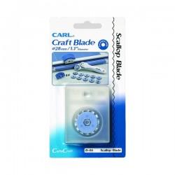 CARL cuchilla scallop