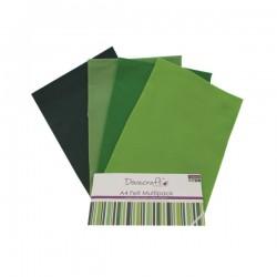 Fieltro Surtido Verdes
