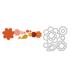 Framelits Die - Flower Layers and leaf