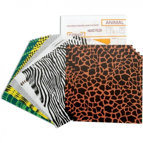 Surtido Origami Animal Patterns