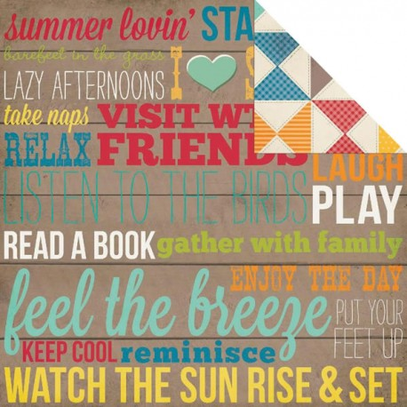 I Heart Summer - Porch Rules