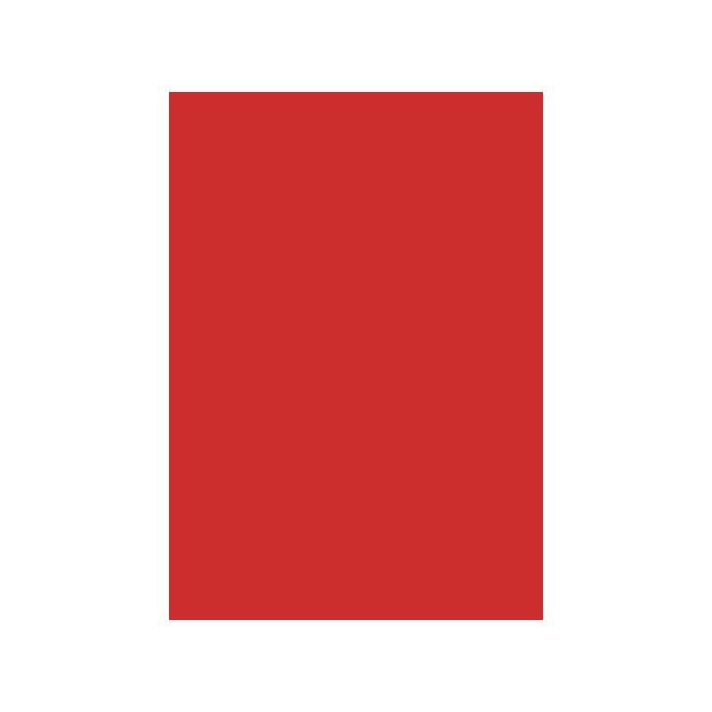 Hoja A4 160g rojo grosella