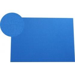 Hoja A4 micro-ondulado azul Francia