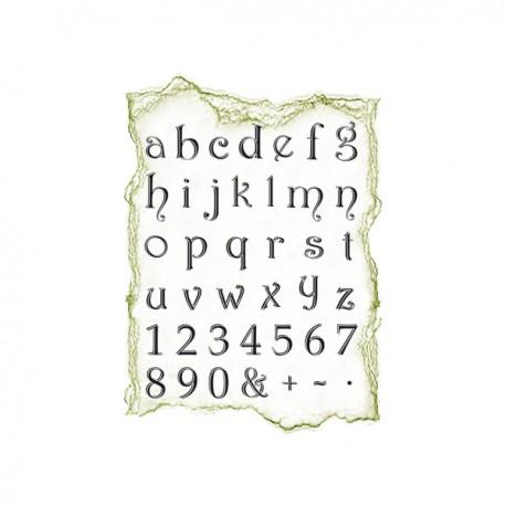 Surtido sellos alfabeto