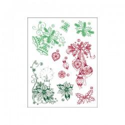 Surtido sellos Navidad clásica