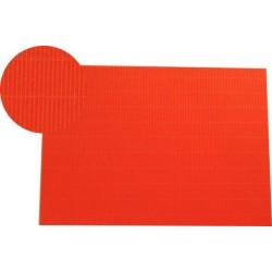 Hoja A4 micro-ondulado naranja