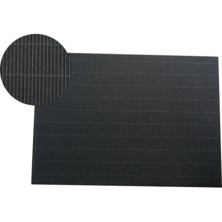 Hoja A4 micro-ondulado negro