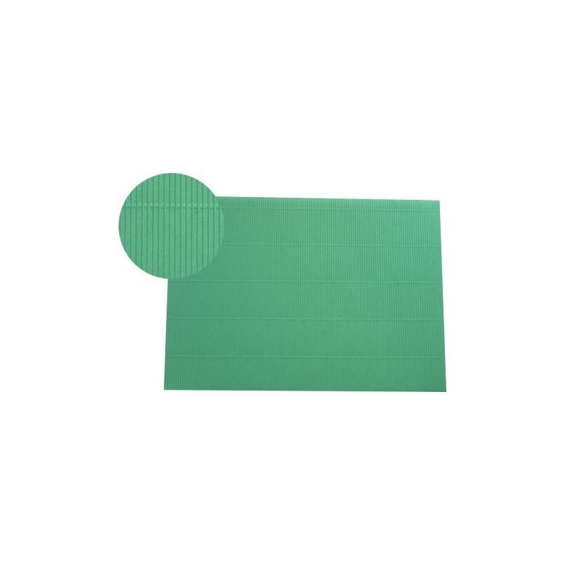 Hoja A4 micro-ondulado verde menta