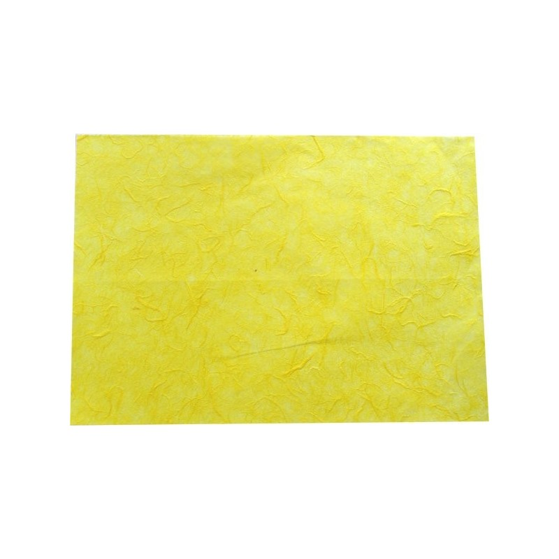 Hoja A4 papel de morera amarillo