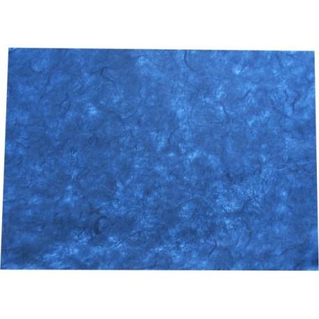 Hoja A4 papel de morera azul oscuro