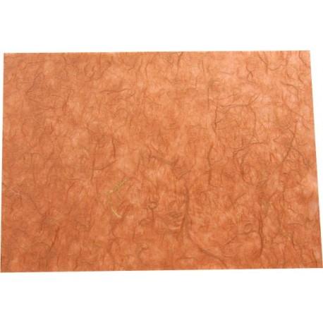 Hoja A4 papel de morera marrón