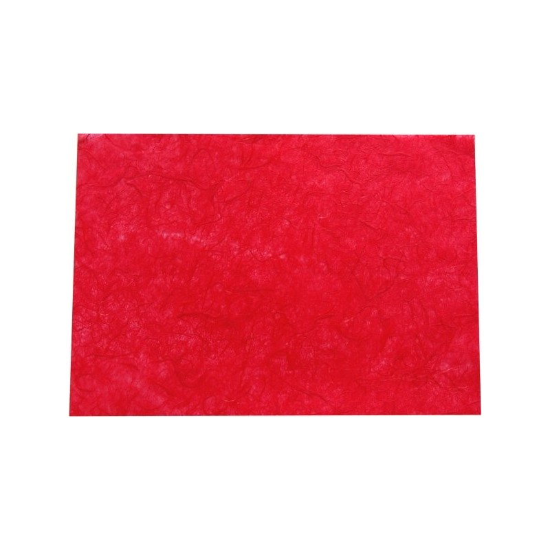Hoja A4 papel de morera rojo