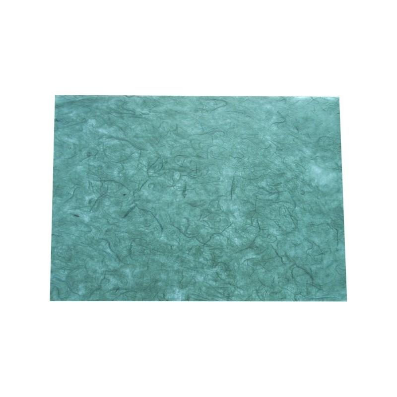 Hoja A4 papel de morera verde pino