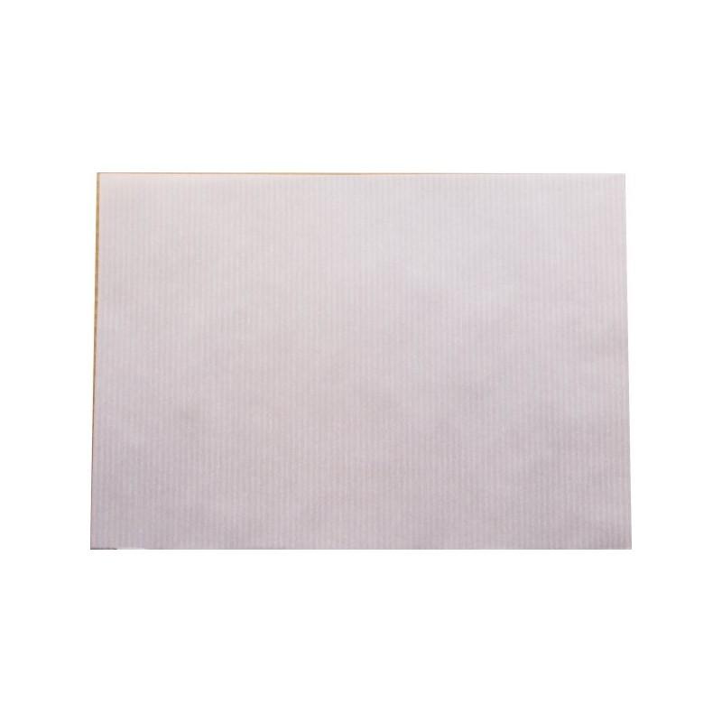 Hoja A4 papel sulfurizado verjurado blanco