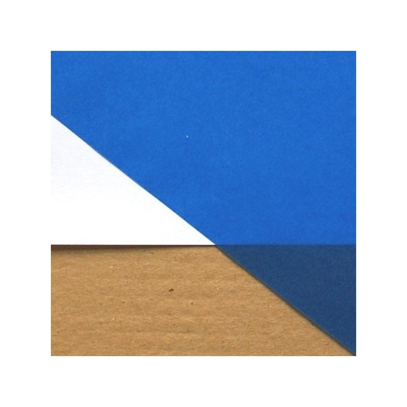 Hoja A4 Vegetal azul