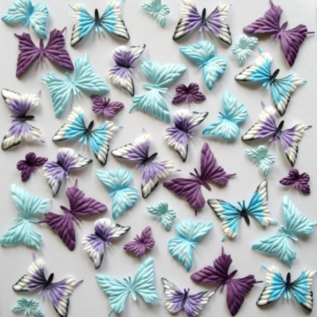Surtido 40 Mariposas – Bleu nuit