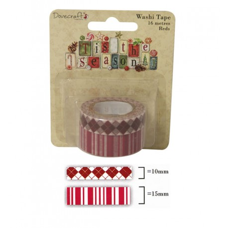 Tis the Season Washi Tape Rojo