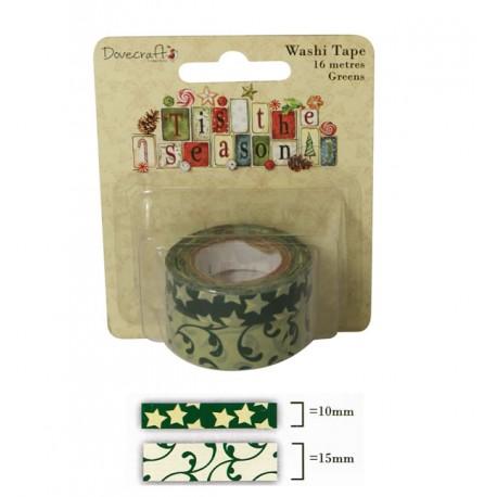 Tis the Season Washi Tape Verde