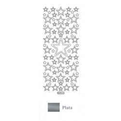 Peel Off - Estrellas Plata