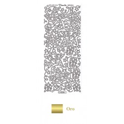 Peel Off - Estrellas navideñas oro